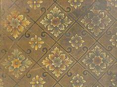 printed linoleum found in an Australian house Linoleum Flooring, Australian Homes, Museum Collection, Historic Homes, Victorian, Antiques, Kitchen Ideas, Prints, Trust