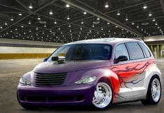 Nice Chrysler 2017 - Custom PT Cruiser hot rod... Chrysler Pt Cruiser, Chrysler 2017, Pt Cruiser Accessories, Dodge Trucks, Lifted Dodge, Cruiser Car, Custom Paint Jobs, Station Wagon, My Ride