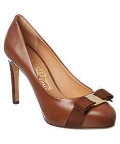 0b6ba5b3829 SALVATORE FERRAGAMO SALVATORE FERRAGAMO PIMPA VARA BOW LEATHER PLATFORM  PUMP .  salvatoreferragamo  shoes  pumps   high heels