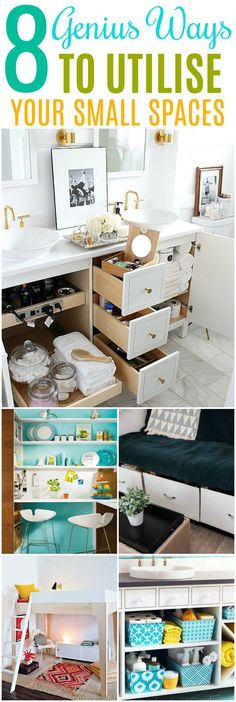 Ways to make your space bigger. #howtomakeyourspacebigger #smallspace #smallhome #smallapartments #homedecor #homedeorating #homedecoratingideas