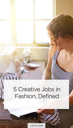 Fahion Jobs: Explained - levo.com