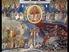 Giotto, Arena (Scrovegni) Chapel, Part 4 of Mystery of History Volume Lesson 72 Ap Art History 250, History Images, Mystery Of History, Italian Renaissance Art, Medieval Art, Siena, Late Middle Ages, Examples Of Art, Italian Painters