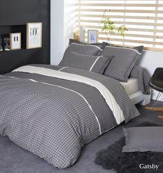 Parure De Lit X Cm En Coton Blanche LUXURY Maisons Du - Parure de lit design chic