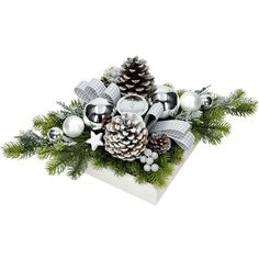 Christmas Arrangements, Christmas Centerpieces, Xmas Decorations, Christmas Flowers, Christmas Wreaths, Christmas Ornaments, Hobbies And Crafts, Diy And Crafts, Italian Home Decor