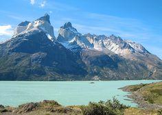 beautiful mountains and lake