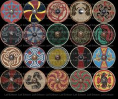 Viking shields 7