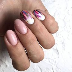Mix and match nail art