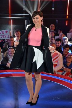 Stunning Emma Willis shoots for the stars for Celebrity Big Brother final