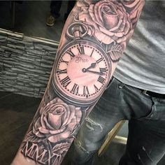 Tattoos.com   Clock Tattoos That Make Time Stand Still   #3 Is Incredible   Page 3