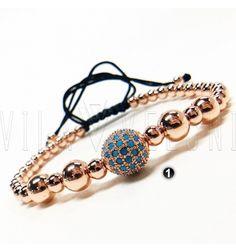 Bracelet By Vila Veloni Style Gold Rose