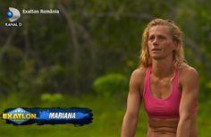 Mariana de la Exatlon Romania este o sportiva ce practica atletismul de peste 20 de ani. La acest concurs, este demoralizata impreuna cu ce... Bra, Sports, Mariana, Hs Sports, Bra Tops, Sport, Brassiere