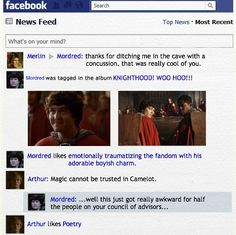 Merlin Season 5 by PheonixLight.deviantart.com on @deviantART Arthur likes poetry cracked me up!