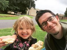 Having a daddy-daughter picnic for #FathersDay.