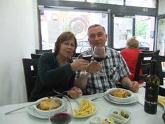 22.05.2014 Lissabon- erstes Abendessen