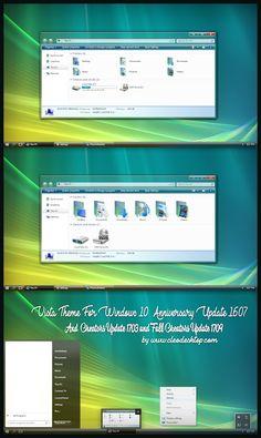 Vista Aero Theme Windows10 Fall Creators Update 1709  Download https://www.cleodesktop.com/2017/12/vista-aero-theme-windows10-fall.html  #Cleodesktop #Windows10