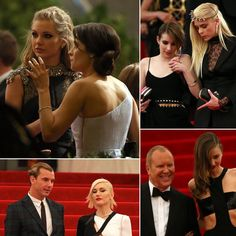 Grand Exit Pictures | Stars Let Their Hair Down Leaving the Met Gala