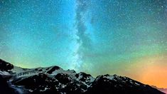 Time lapse video of milky way traversing the Swiss Alps from Susten Pass. It was hazy and windy that night. The light pollution on the right hand side comes . Mall Of America, North America, Beach Trip, Beach Travel, Light Pollution, Royal Caribbean Cruise, London Pubs, Swiss Alps, Stockholm Sweden