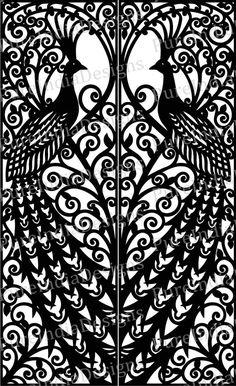 Best Hobbies For Couples Laser Cut Screens, Laser Cut Panels, Laser Cut Metal, Laser Cutting, Peacock Pattern, Peacock Art, Paisley Pattern, Corte Plasma, Motifs Art Nouveau