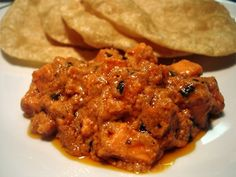 Paneer Butter Masala (cottage cheese cooked in a buttery tomato sauce)
