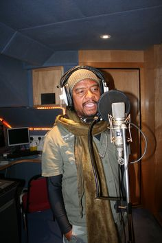 Maxi Priest recording at Abbey Road