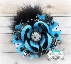 Daddy's Girl OTT Hair Bow by BrittanysBowsNMore2 on Etsy, $14.00