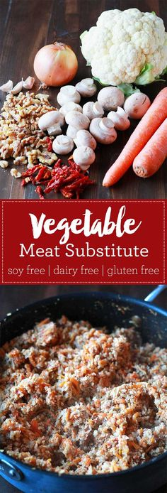 """Vegetable Meat Substitute 