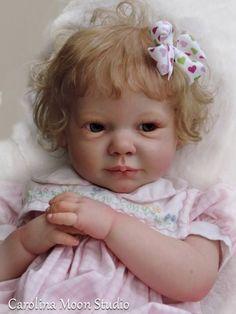 REBORN BABY CHLOE by ANN TIMMERMAN & REBORN by CAROLINA MOON STUDIO LAYAWAY problem