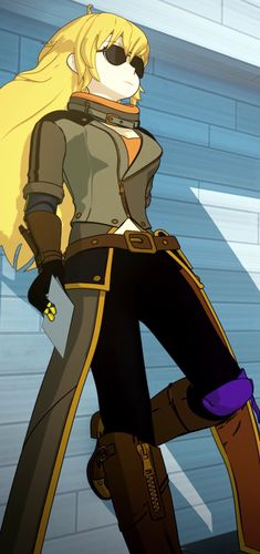 RWBY: Yang Xiao Long [from Volume 4, Episode 12: No Safe Haven]