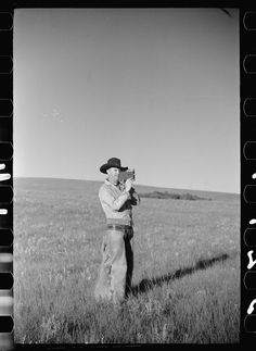 Cowboy with a movie camera