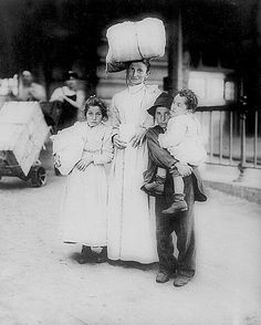Italian Immigrant at Ellis Island