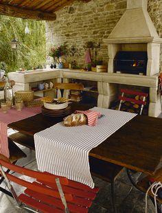 am nager une cuisine d 39 t conseils et id es conseils travaux et cuisines. Black Bedroom Furniture Sets. Home Design Ideas