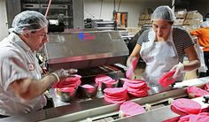 pink tortillas for a breast cancer fundraiser