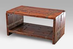 Coffee Table  Rustic coffee table  Upcycled by SweetRedDesign