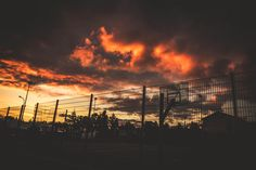 Photograph Prison Sunset by Aron Mar Stefansson on 500px