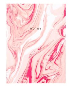 Another great find on #zulily! Pink Marble Notebook #zulilyfinds