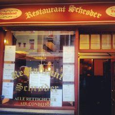 Restaurant Schrøder in Oslo, Oslo Oslo, Nightlife, Four Square, Travel Tips, Restaurant, Entertainment, Travel Advice, Diner Restaurant, Supper Club