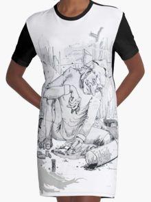Entomologist Graphic T-Shirt Dress