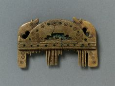 """Anglo-Saxon comb c 8th-9thc  Within the general """"Viking"""" area, so it counts"""