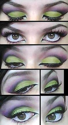 Maleficent Inspired Look. by amanda.f.i, via Flickr
