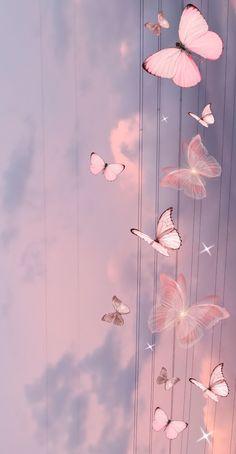 Purple Wallpaper Phone, Pink Wallpaper Backgrounds, Cute Galaxy Wallpaper, Butterfly Wallpaper Iphone, Phone Wallpaper Images, Cute Wallpaper For Phone, Iphone Wallpaper Tumblr Aesthetic, Cute Patterns Wallpaper, Aesthetic Pastel Wallpaper