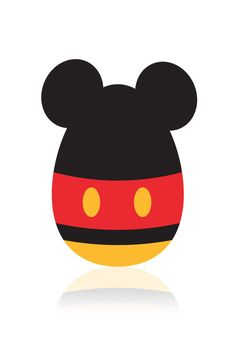 #Easter Mickey Mouse Minimal chibi wallpaper for iPhone - mobile9