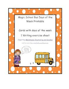 90 Best Days Of The Week Images Teaching Ideas Baby