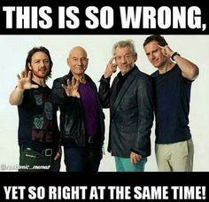 X-Men #Flip #Reverse