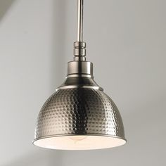 Small Hammered Metal Pendant Light - Shades of Light & Hammered Metal Pendant Light - Small | Pinterest | Pendant lighting ...