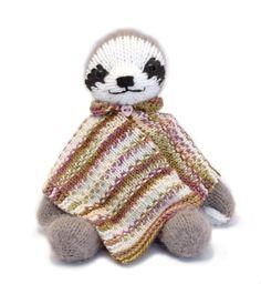 (6) Name: 'Knitting : Three-Toed Sloth