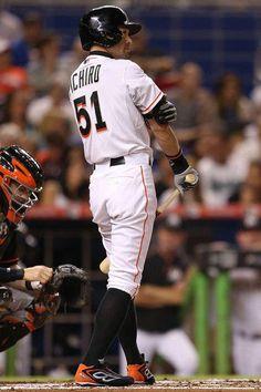 Ichiro Suzuki Photos Photos: Baltimore Orioles v Miami Marlins Espn Baseball, Marlins Baseball, Baseball Helmet, New York Yankees Baseball, Baseball Socks, Baseball Jerseys, Baseball Caps, Basketball, Baseball Score Keeping