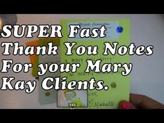 How to FIND TIME to write Mary Kay Thank You Notes and why. As a #Mary Kay #beauty consultant I can help you, please let me know what you would like or need. www.marykay.com/KathleenJohnson www.facebook.com/KathysDaySpa