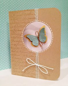 Butterfly Card by cassie-d'ambrosio