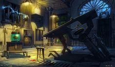 Frankenstein's Lab by saltytowel on DeviantArt