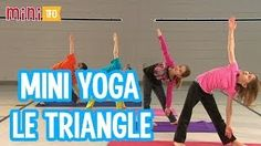 Tricks to Lose Weight Doing Yoga - Yoga Fitness. Introducing a breakthrough program that melts away flab and reshapes your body in as little as one hour a week! Movement Activities, Physical Activities, Physical Education, Teaching Time, Teaching French, Brain Break Videos, Le Triangle, Pilates, French Songs